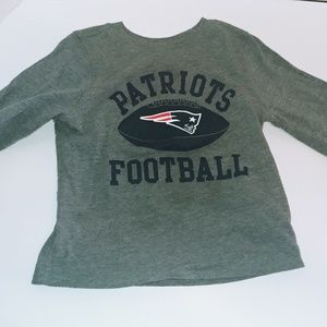 Patriots long sleeve 18-24 months